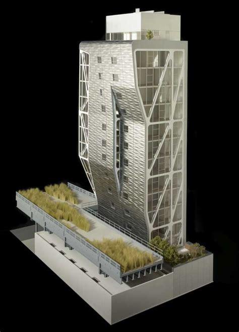 Residential Building Plans Hl23 Project New York High Line Neil Denari E Architect