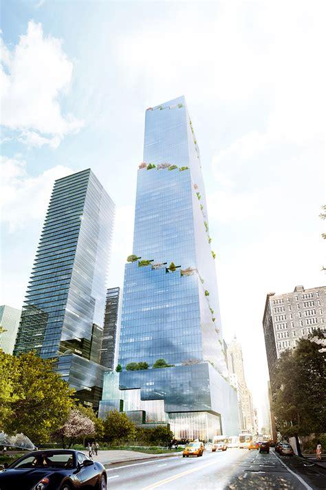 bid now the spiral office tower in new york by bjarke ingels