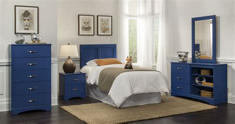 Children S Bedroom Set Blue Union Furniture Company