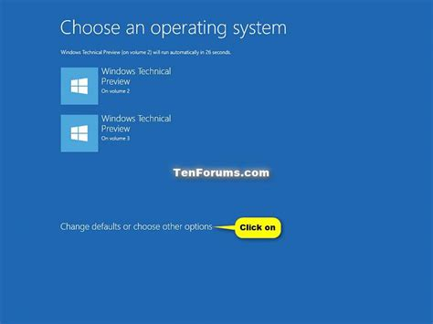 windows 10 operating system tutorial advanced startup options boot to in windows 10 windows