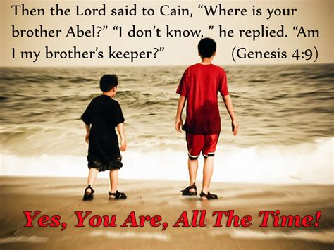 am my brothers keeper black i am my brothers and keeper