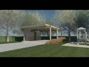 Rv Garage Plans And Designs clifford o reid architect modern carport design youtube