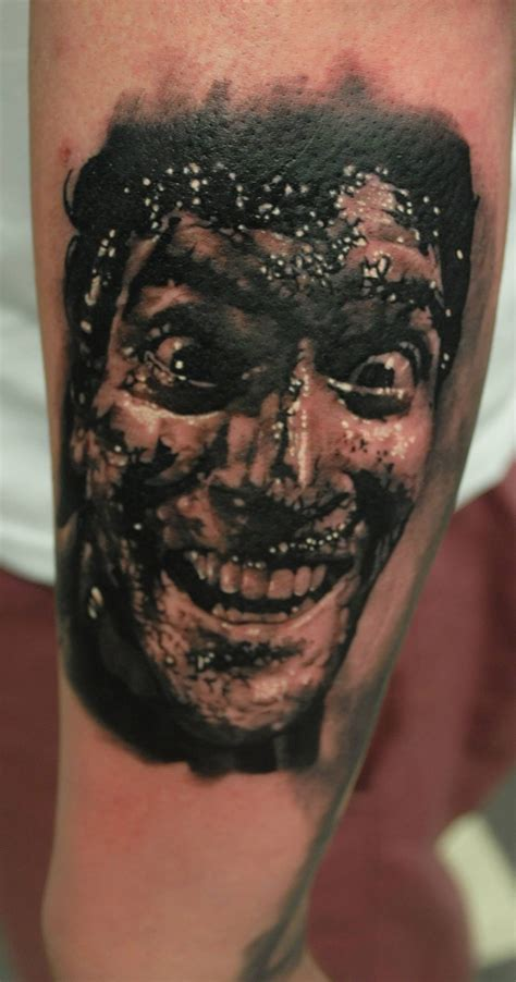 evil dead tattoo new evil dead half sleeve big planet community