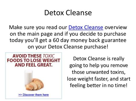 3 Day Detox Help You Lose Weight by Detox Cleanse