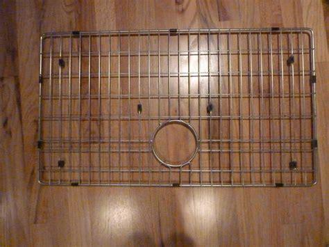 kitchen sink grate grid stainless 17 x 30