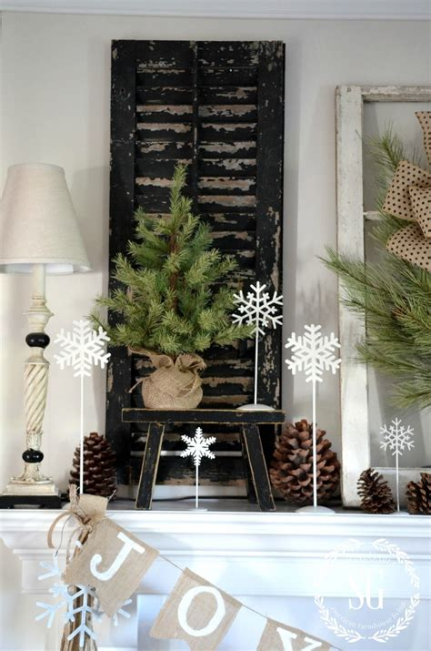 keeping cats from mantel decorations and trees farmhouse mantel stonegable