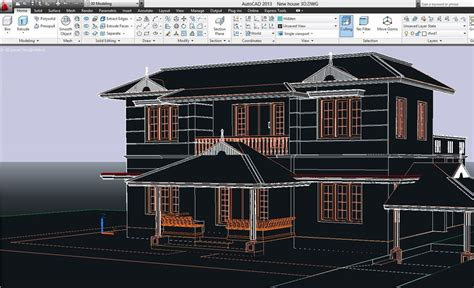 Working Drawing Floor Plan by Autocad 2d Amp 3d Elevations Civil Engineering Community