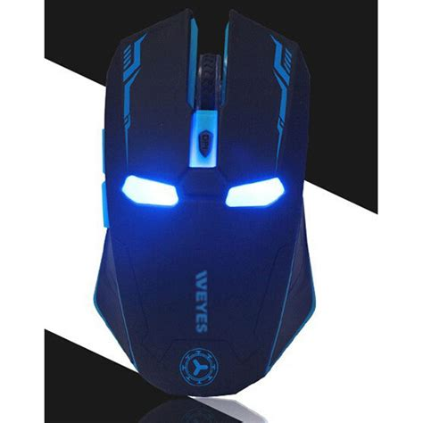 Mouse Gaming Bandung nafee iron wireless mouse gaming mute button silent click 2 4ghz black jakartanotebook