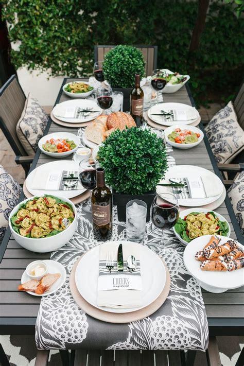 how to host an italian dinner best 25 dinner table ideas on diy dinning