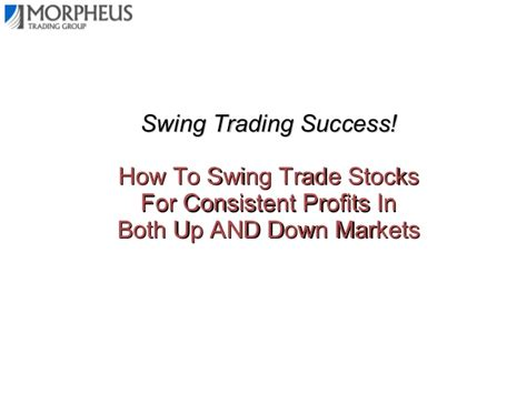 how to swing trade options first hour trading simple strategies for consistent