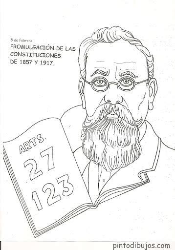 imagenes de la revolucion mexicana para niños faciles revolucion mexicana para colorear 006 jpg civismo