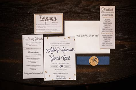 wedding invitations michigan rustic chic michigan wedding jonah emmaline