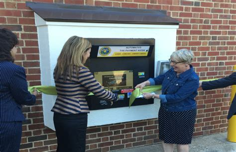 Albemarle County Personal Property Tax Records Albemarle Residents Get A New Tax Payment Kiosk Wwwv 97 5