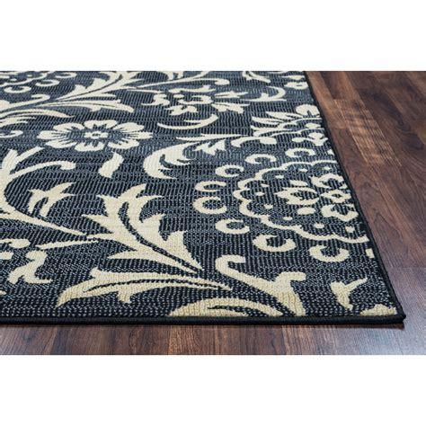 rugs black rizzy home black area rug reviews wayfair ca