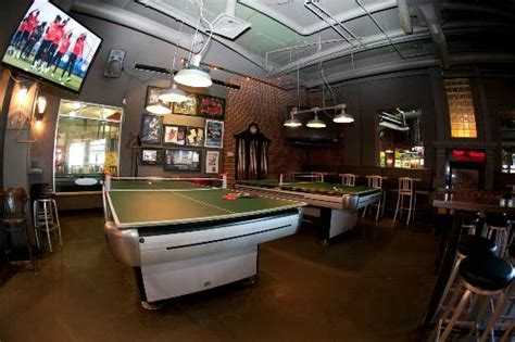 ping pong table in garage or some ping pong picture of garage billiards bar