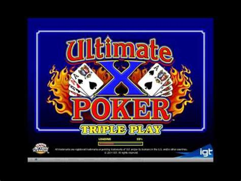 partycasino demo ultimate  triple play draw poker clubmikev youtube