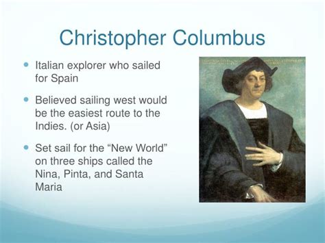 christopher columbus biography ppt ppt portuguese explorers powerpoint presentation id