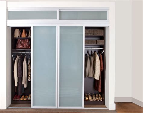 Reach In Closet Doors Reach In Closet Sliding Doors Contemporary Interior Doors Other Metro By Transform The
