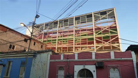 designboom urban think tank urban think tank s vertical gym in venezuela revitalizes
