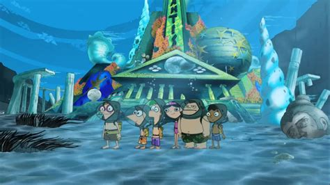 how did atlantis sink atlantis phineas and ferb wiki fandom powered by wikia