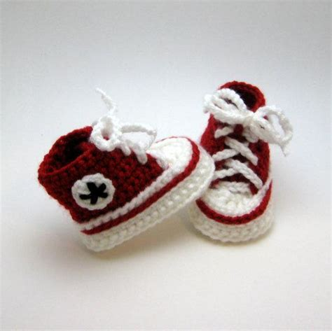 Baby Converse Booties By Smuckers Craftsy