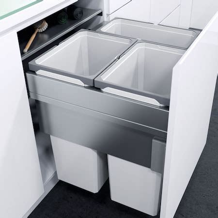 In Cupboard Bins by Built In In Cupboard Bins For Kitchen Cabinets With 600mm