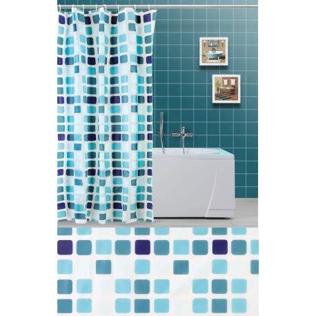 tende doccia per vasca da bagno tenda doccia a quadri verde acqua e celeste e per vasca da