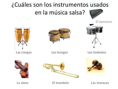 imagenes instrumentos musicales salsa la salsa