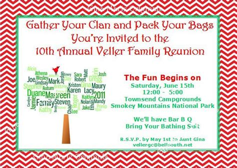 family invitation wording family reunion invitation wording summer partying ideas