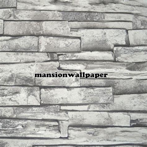 harga wallpaper motif batu bata jual wallpaper dinding motif batu bata alam 3d tipe 2
