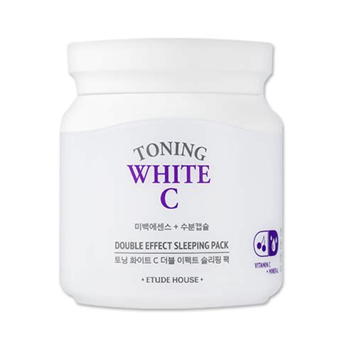 Etude Toning White C etude house toning white c effect sleeping pack