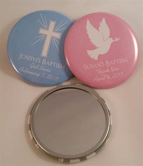 Personalized Giveaways Baptism - personalized baptism favors christening mirrors
