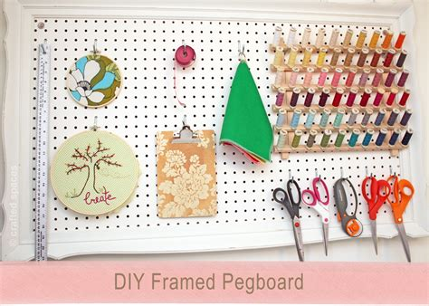 diy pegboard crafted spaces diy pegboard wall organizer