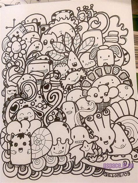 draw doodle coloring 17 best ideas about kawaii doodles on kawaii