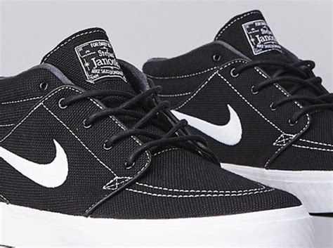Sepatu Nike Janoski Original nike stefan janoski mid black white sneakernews