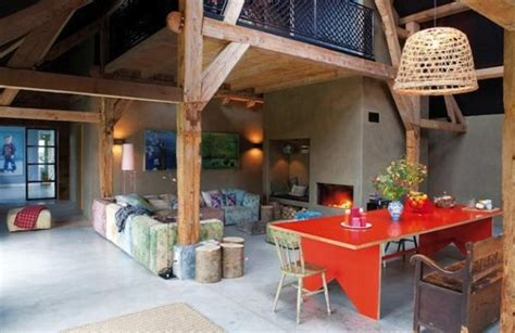 interior design for farm houses colorful interior design in eclectic style turned old farm house into cozy modern home