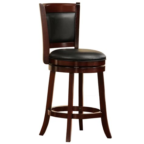 Cherry Stools by Shop Home Sonata Cherry 24 In Counter Stool At Lowes