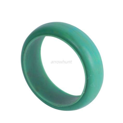 Mens Silicone Wedding Ring Band Rubber Ring Flexible