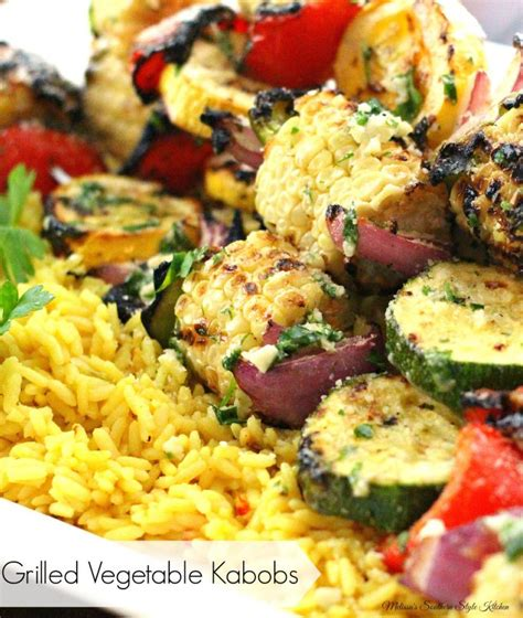 vegetables kabobs grilled vegetable kabobs with garlic herb butter