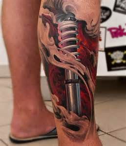 mens leg tattoos biomechanik tattoo 20 coole ideen und inspirierende bilder