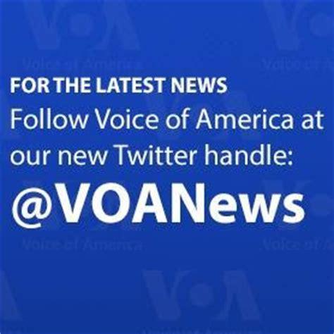 voa news voice of america voa news