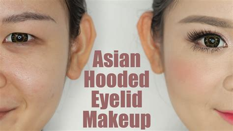 eyeshadow tutorial for small eyelids hooded asian eye makeup www pixshark com images