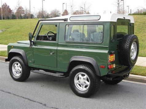 all car manuals free 1997 land rover defender 90 auto manual 1997 land rover defender 1997 land rover defender for sale to buy or purchase flemings