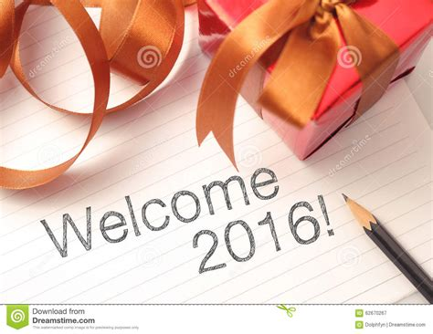 welcome 2016 stock photo image 62670267