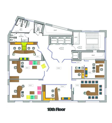 Tiny House Layout 136 engineer syndicate office building in latakia syria by