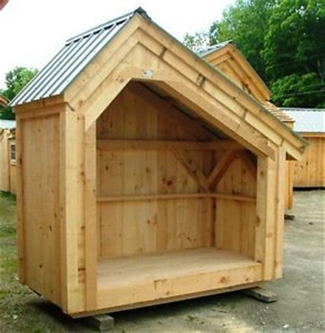 4x8 Sheds by Diy Plans 4x8 Saltbox Woodbin Storage Shed Firewood