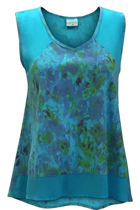 color me cotton color me cotton cotton cupro tank from california by