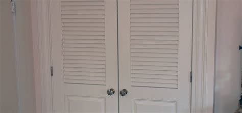 How To Hang Louvered Closet Doors Interior Exterior Homie Closet Door Panels