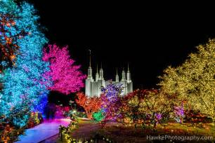 washington d c mormon temple lights 2016