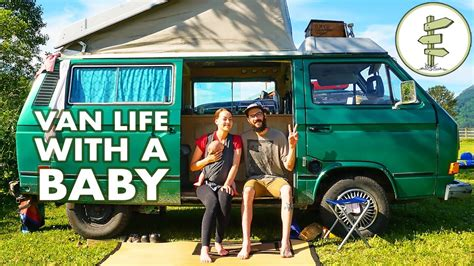 this family lives life in a van business insider cer van travel with a baby it s family van life